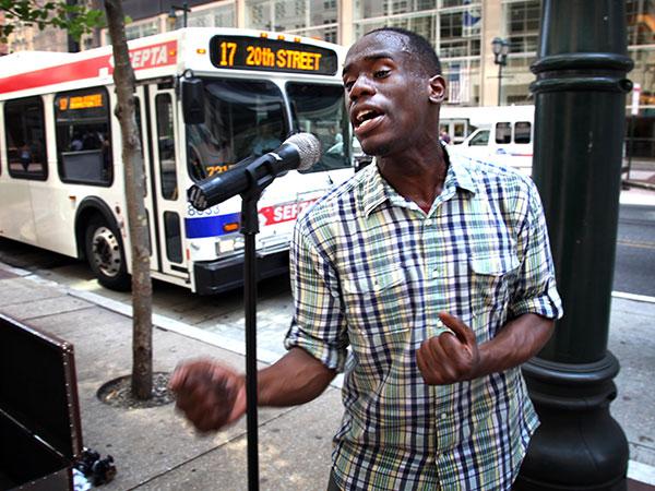 Anthony Riley Street Performance Photo